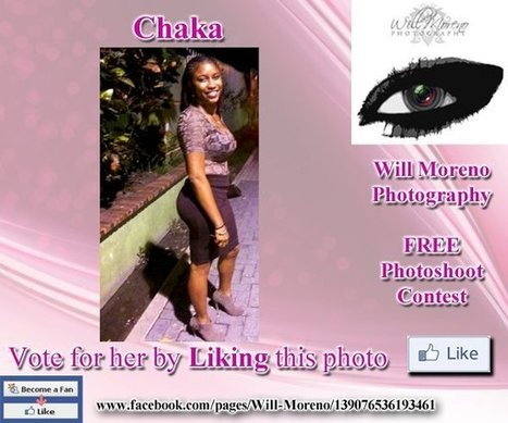 Chaka - Contestant to win a FREE Photoshoot with Will Moreno | Belize in Photos and Videos | Scoop.it