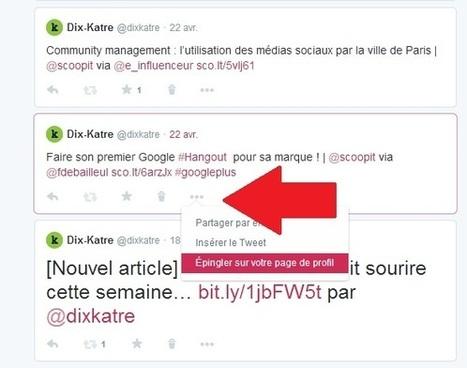 Ce que les nouveaux profils Twitter changent pour vous   WebMarketing News   Scoop.it