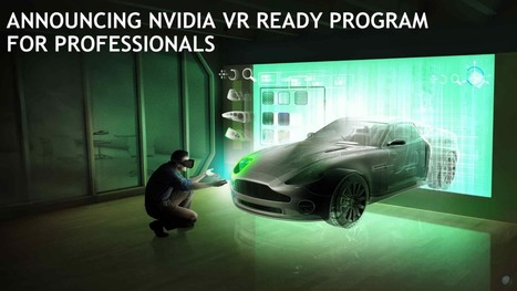 Nvidia Launches VR Ready for Professionals - VR World | Computational Neuroscience | Scoop.it