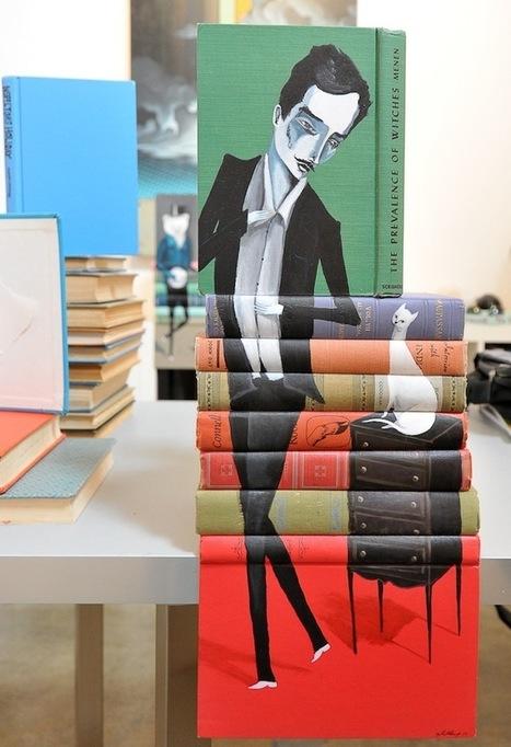 mike stilkey, libros como lienzos | El Mundo del Diseño Gráfico | Scoop.it