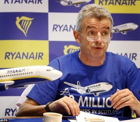 Ryanair could offer transatlantic flights 'by 2024' | F584 Transport | Scoop.it