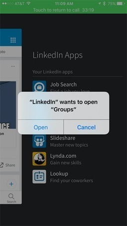 10 Ways to Use the New LinkedIn Mobile App | Linkedin for Business Marketing | Scoop.it