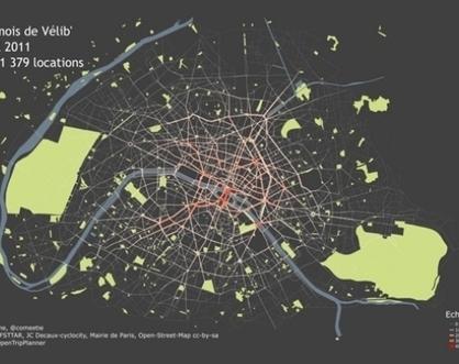 Une nouvelle utilisation de l'open data Vélib' | Smart city & Smart mobility : | Scoop.it
