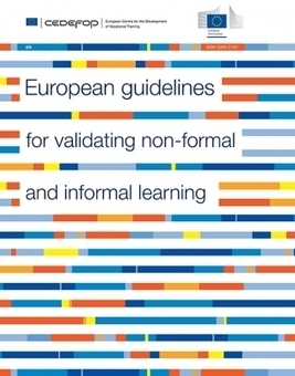 European guidelines for validating non-formal and informal learning | blended learning | Scoop.it