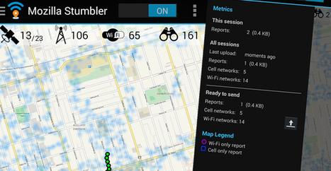 Mozilla Stumbler : un sniffeur de réseaux WiFi open-source | Time to Learn | Scoop.it