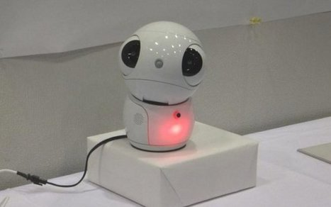 ApriPetit, The Latest Talkative and Cute Robot | Geeky Gadgets | The Robot Times | Scoop.it