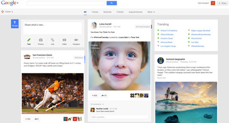 Google Launches Dramatic Redesign of Google+, Emphasizing Context and Content Discovery | Community Managers Unite | Scoop.it