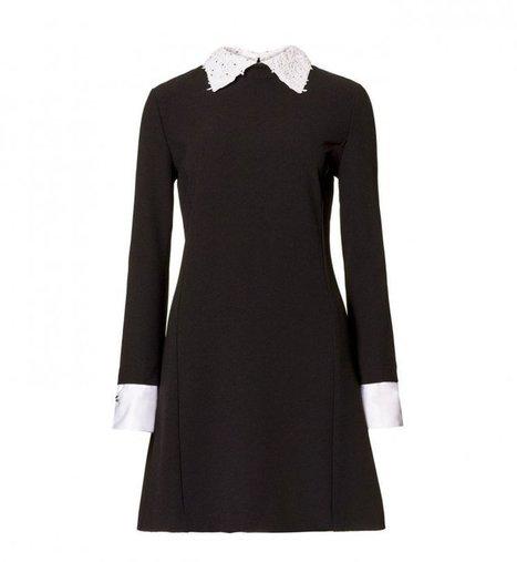 Mode : les 45 robes noires tendance de l'automne-hiver - Cosmopolitan.fr | Ready to go out? | Scoop.it
