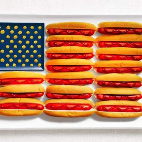 These 17 flags made of food will make you ravenously hungry | Moodboard | Scoop.it