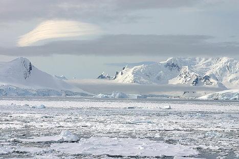 La banquise est encore bien présente en péninsule Antarctique | Hurtigruten Arctique Antarctique | Scoop.it