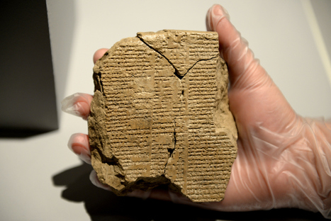 The newly discovered tablet V of the Epic of Gilgamesh | Aux origines | Scoop.it