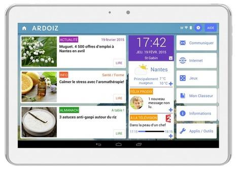 Tikeasy lance la tablette senior « ARDOIZ » en partenariat avec La Poste et Notre Temps | Seniors | Scoop.it
