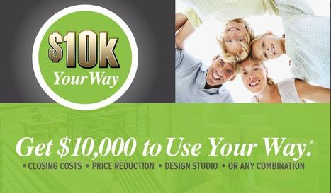Get $10K Your Way On Move In Ready Homes | Seattle New Homes | Scoop.it