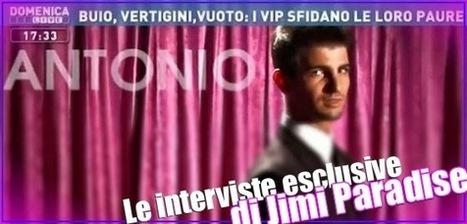 Jimi Paradise intervista Antonio Dimartino, l'angelo di Domenica Live | GOSSIP, NEWS & SPORT! | Scoop.it