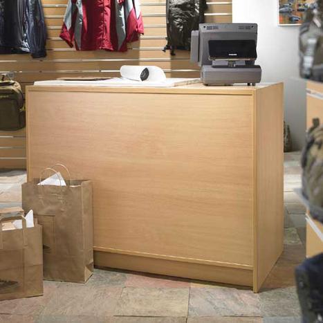 Shop Retail Counters   Shopfittings and Slatwalls   Scoop.it