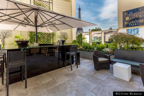 La Terrasse d'été du Shangri-La Paris by Belvedere | Hôtels de luxe | Scoop.it