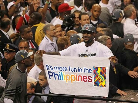 LeBron James: It's More Fun in the Philippines | SWN E-Zine [July 2012] | Scoop.it