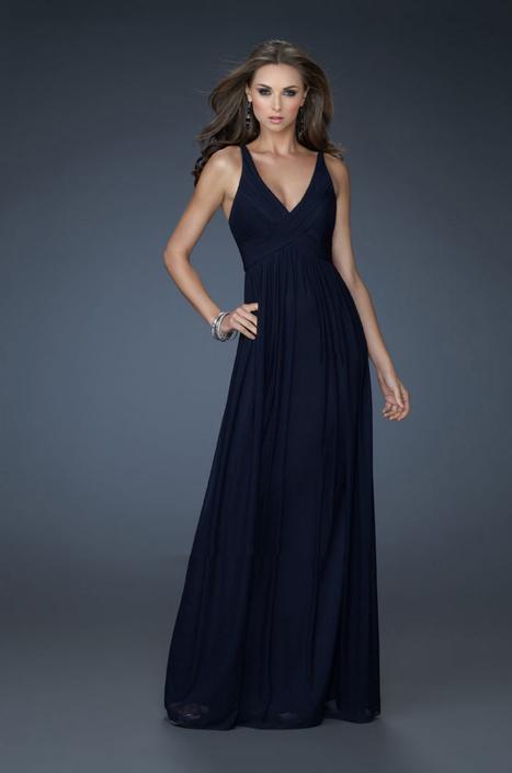 Navy Floor Length V Neck Evening Dresses La Femme 18039 Cheap [La Femme 18039] - $160.00 : La Femme Outlet, 60% Off La Femme Sale Online | gownprincess | Scoop.it