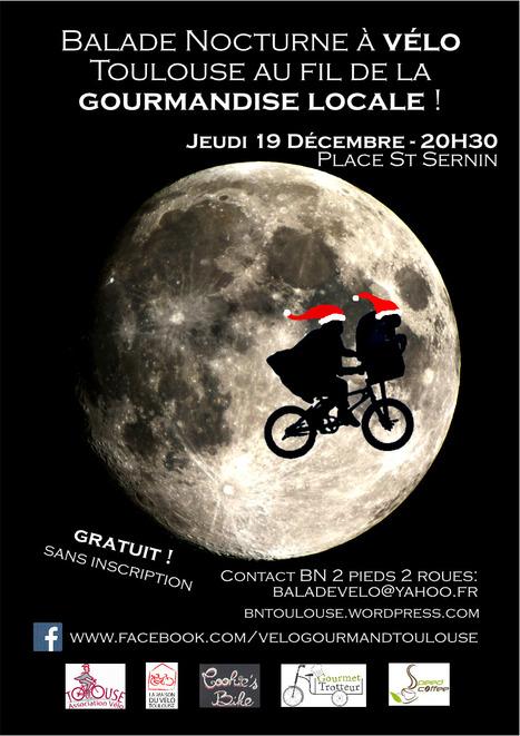 Balade Nocturne à Vélo : Toulouse au fil de la Gourmandise Locale !   Facebook   Balade Nocturne à vélo : Toulouse au fil de la gourmandise locale !   Scoop.it