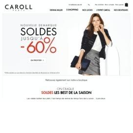 réduction et code promo CAROLL. Faites des économies grâce au | codes promo | Scoop.it