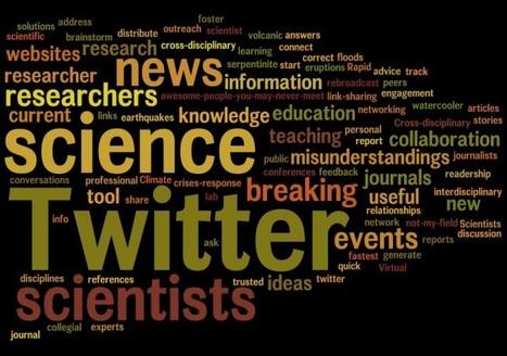 Why should scientists use Twitter? - The Plainspoken Scientist - AGU Blogosphere | Science Journalism | Scoop.it