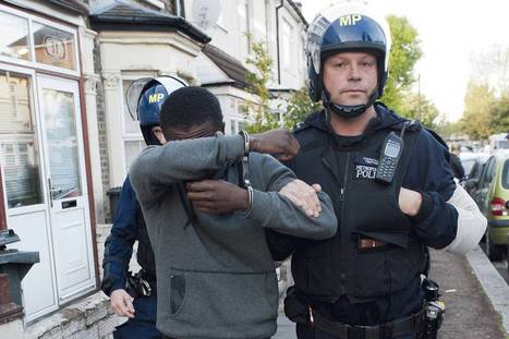 Gang suspects arrested in dawn raids by police , the ES actually published a pic of black suspect   The Indigenous Uprising of the British Isles   Scoop.it
