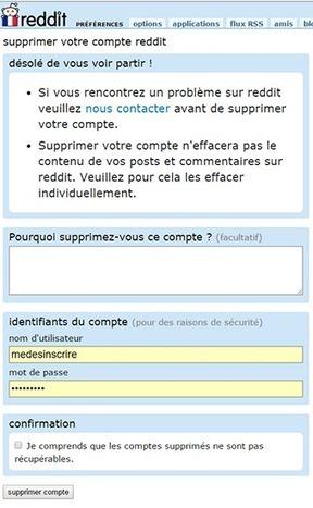 Supprimer un compte Reddit   Se désinscrire des Réseaux Sociaux   Scoop.it