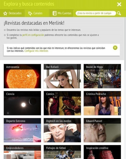 Educación tecnológica: Merlink: revistas digitales para centralizar la información | A New Society, a new education! | Scoop.it