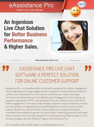 Best Solution For Online Customer Support | Live Support Software | Scoop.it