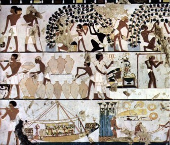 """""""The meaning of wine in Egyptian tombs: the three amphorae from Tutankhamun's burial chamber"""", by Maria Rosa Guasch Jané 