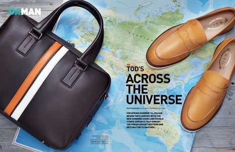 Tod's Across the Universe | Fashion Spread: Tod's | Le Marche & Fashion | Scoop.it