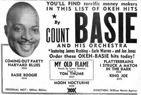 Showbiz Imagery and Chicanery, COUNT BASIE   Jazz Plus   Scoop.it