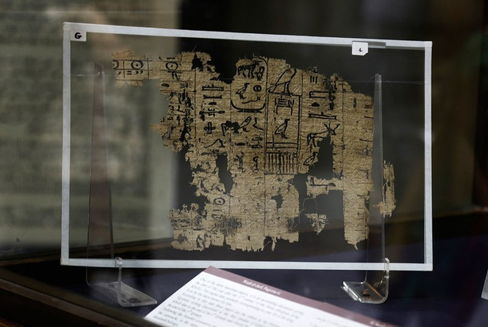 Oldest Egyptian writing on papyrus displayed for first time | Art Daily | Kiosque du monde : Afrique | Scoop.it