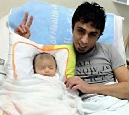 #Bahrain :  A recent photo of Mohammed Mushaima in the hospital with his newborn baby   Human Rights and the Will to be free   Scoop.it