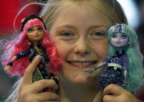 'Monster High' dolls scare up trouble for Barbie sales - Fox News | Dolls Universe | Scoop.it