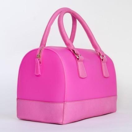 Petit sac à main forme bowling en pvc   Accessoires de mode femme   Scoop.it