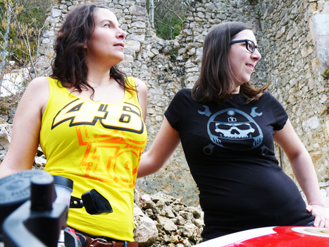 [Interview] Motarde et Fondatrice de Vieux motard que jamais !   Vintage et Café Racer   Scoop.it