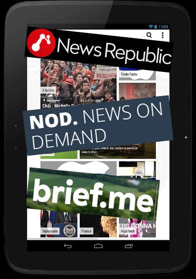 «L'actualité en cinq minutes», la nouvelle promesse des applis | DocPresseESJ | Scoop.it