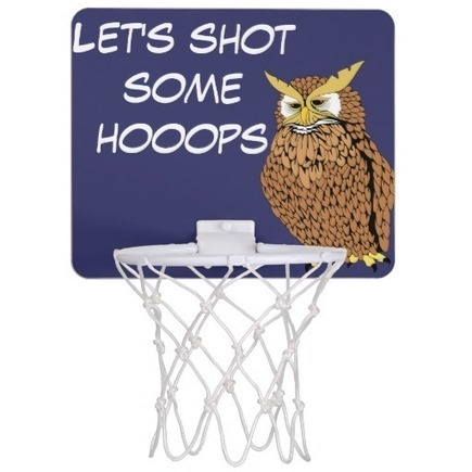 Shot some Hooops cartoon owl | Unique and Customizable Gifts | Scoop.it