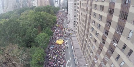 This Is What It Looks Like When 400,000 People March For #Climate Change in #NY #NewYork | Sustainability | Scoop.it