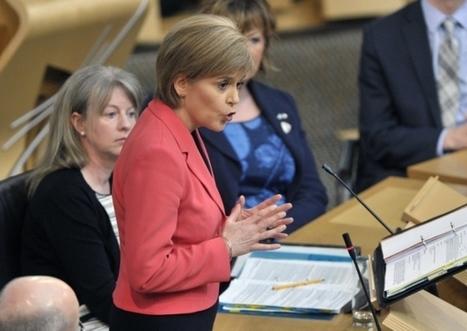 Nicola Sturgeon: Scotland to take in 1000 refugees   Politics Scotland   Scoop.it