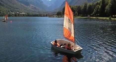 En bateau à voile sur le lac | Louron Peyragudes Pyrénées | Scoop.it