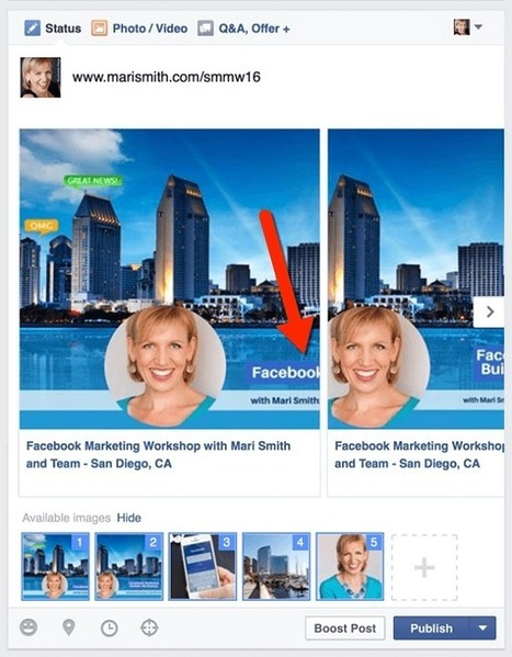 Facebook Carousel Content: How to Make Your Posts and Ads Stand Out : Social Media Examiner | Facebook for Business Marketing | Scoop.it