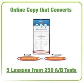 Online Copywriting that Converts – 5 Lessons from 250 A/B Tests | Optimisation Testing | Scoop.it