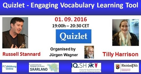 Globinars: Webinar with Russell Stannard: Quizlet - Engaging Vocabulary Learning Tool | Moodle and Web 2.0 | Scoop.it