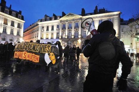 Manifestation anti-FN à Nantes avant un meeting pour les municipales   Politique   Scoop.it