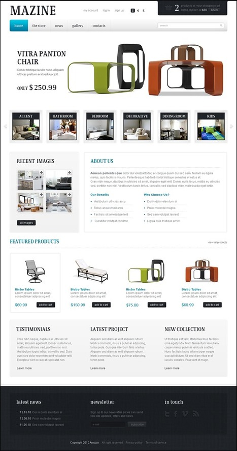 30 Best Wordpress E-Commerce Themes | Time to Learn | Scoop.it