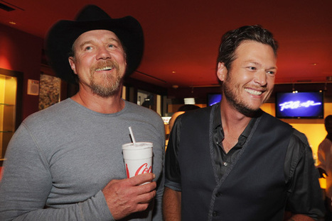 Blake Shelton Says Trace Adkins Showed Him How to Be a Mentor   Country Music Today   Scoop.it