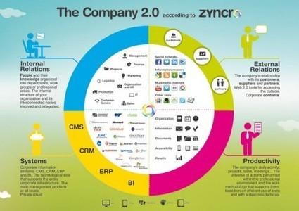 [Infographie] Qu'est ce que l'entreprise 2.0? | Networking et Réseaux Sociaux | 1STMG NTIC | Scoop.it