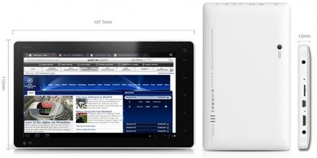 "7"" Android Tablet With ICS Now Up For PreSale – Only $110 - Tablified 